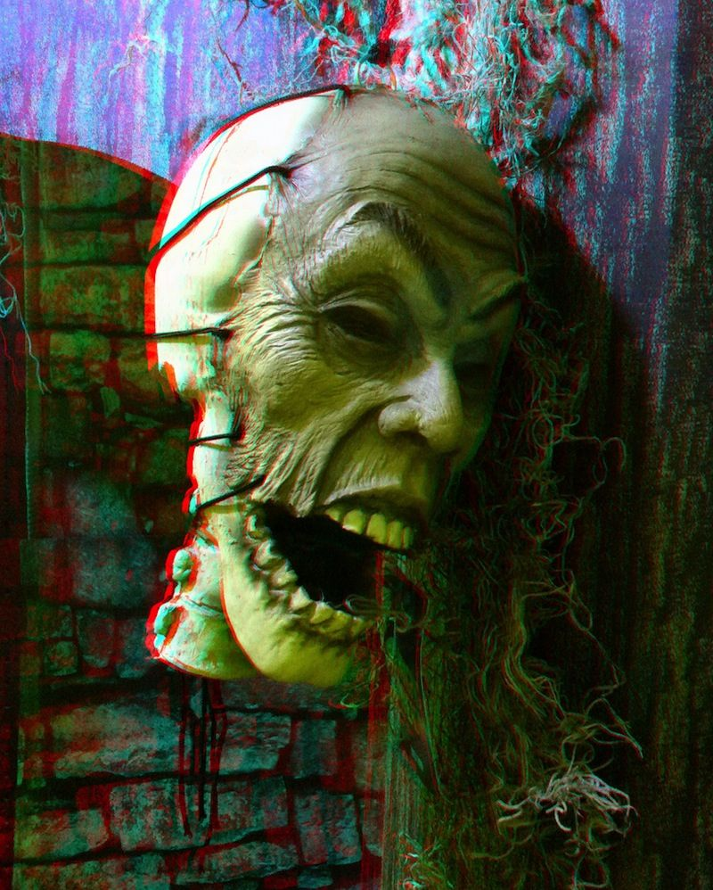 3d Picture Of The Day Scary Face Http 3dgeeks Com News Story 3d Picture Of The Day Scary Face Html Scary Faces 3d Pictures Pictures