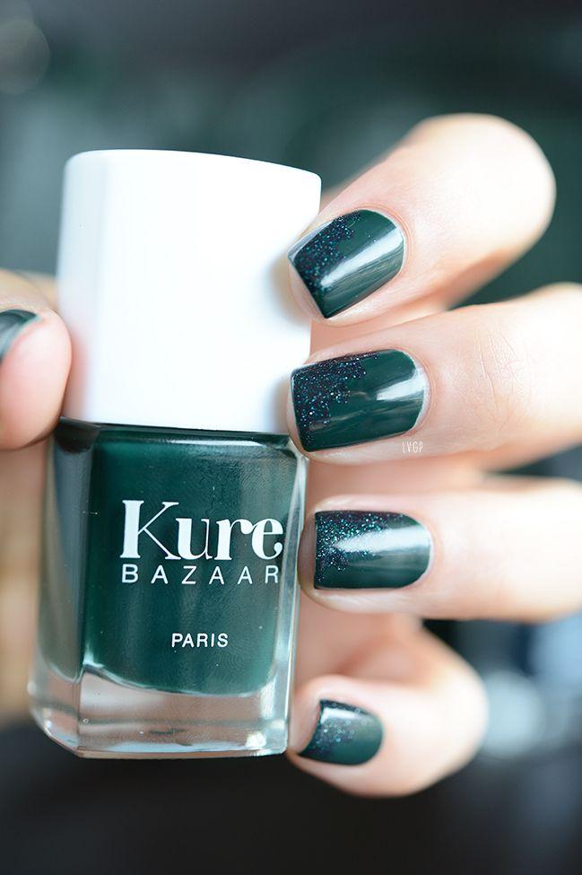 Vernis Kale Kure Bazaar, le vert noir infiniment trendy disponible ...