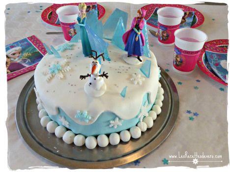 Gateau Reine des neiges - Frozen cake