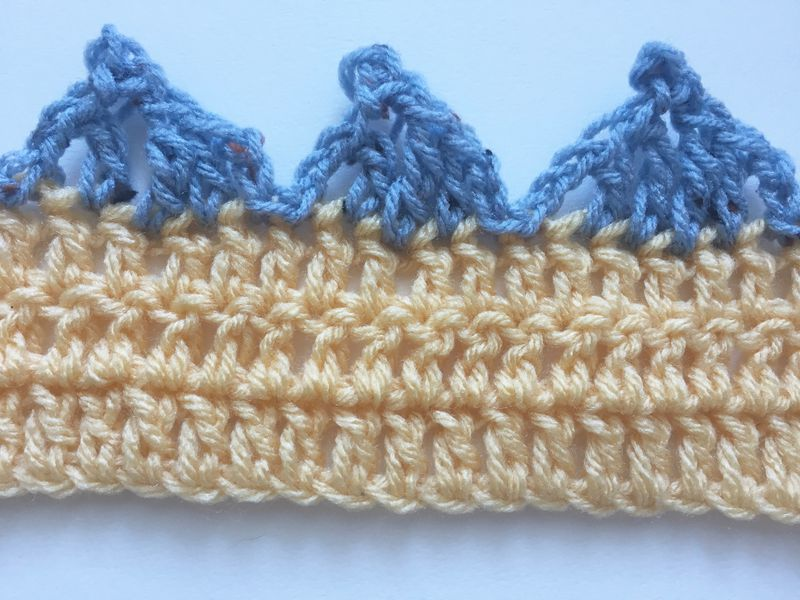 59 Free Crochet Patterns for Edgings, Trims, and Blanket Borders ...