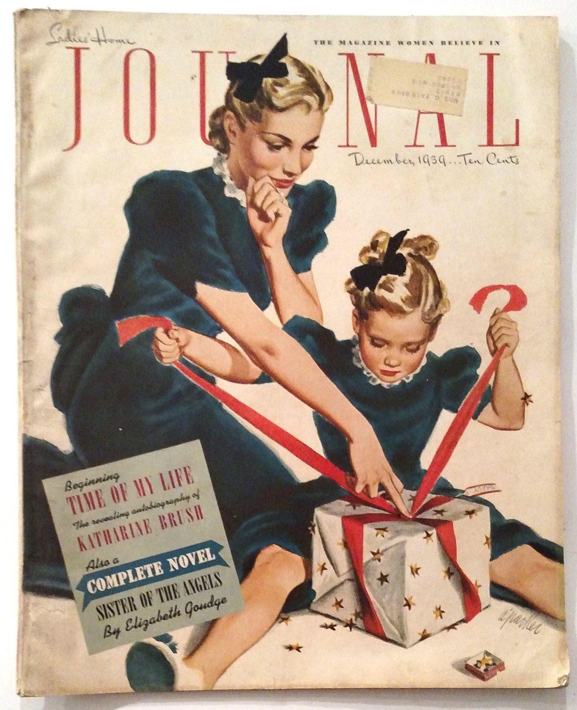 Vintage Ladies Home Journal The Magazine Women Believe Etsy In 2020 Vintage Illustration Vintage Ads Vintage Magazine