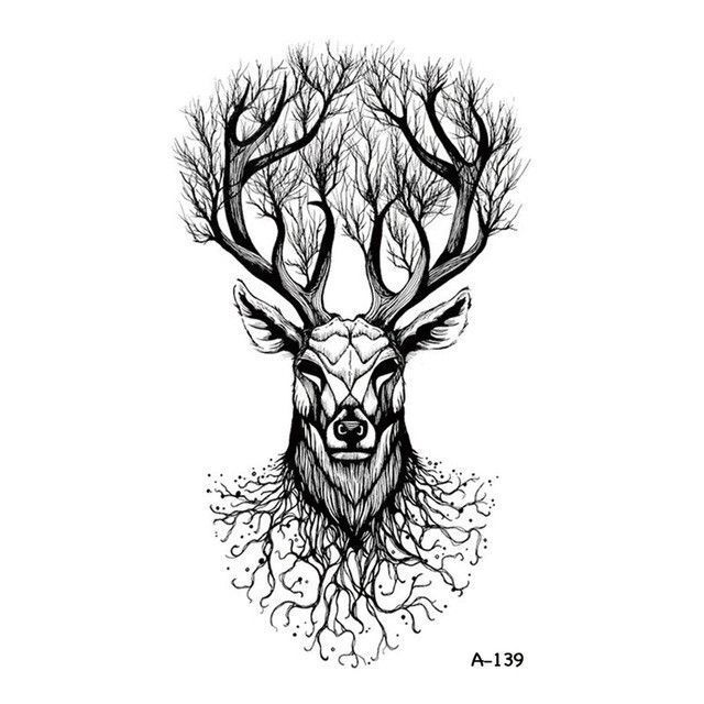 a3b8a28a7 Image result for modern celtic stag tattoo | Tattoo Images | Hand ...