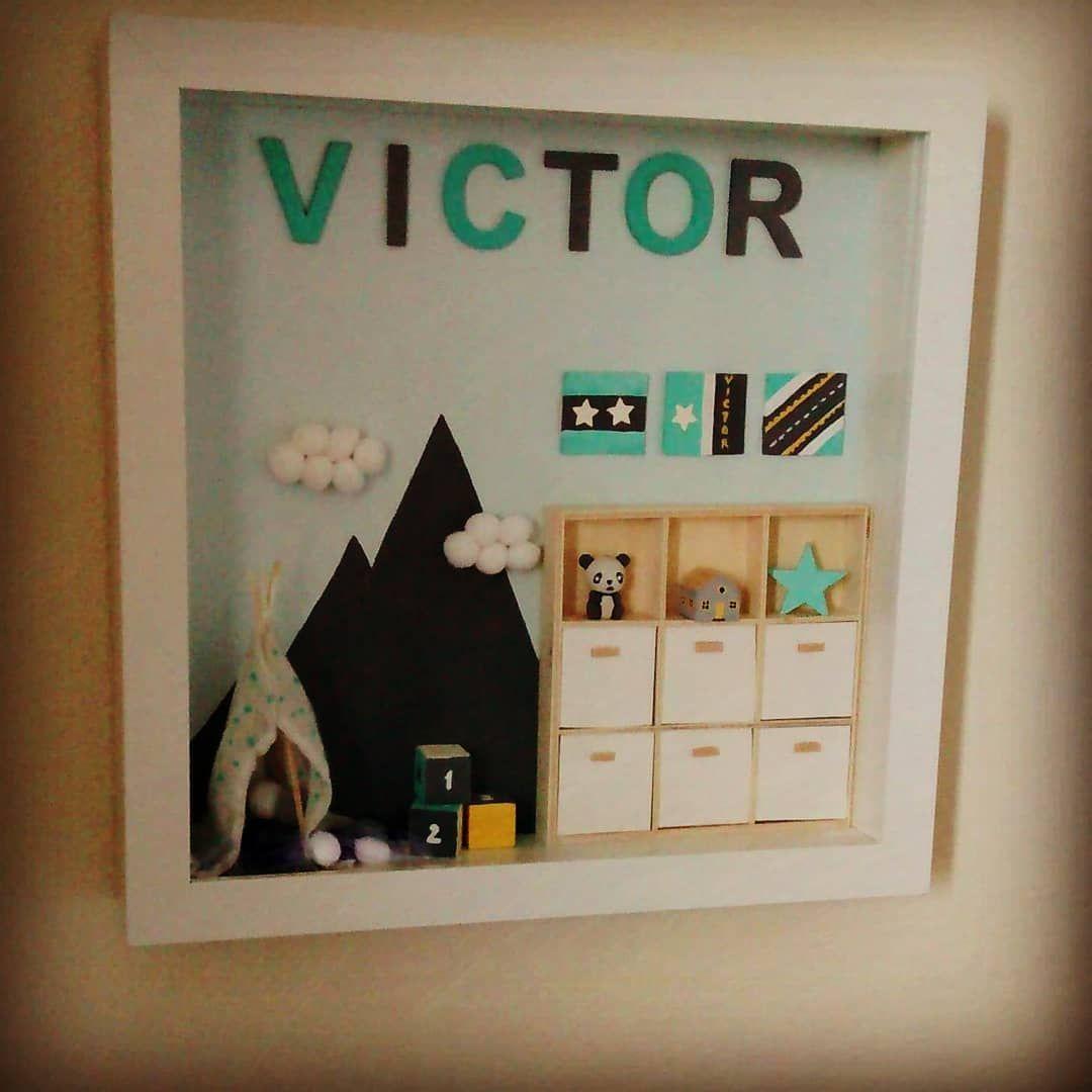 Décoration Chambre Bébé Fait Soi Même cadre décoratif pour chambre bébé personnalisé fait main