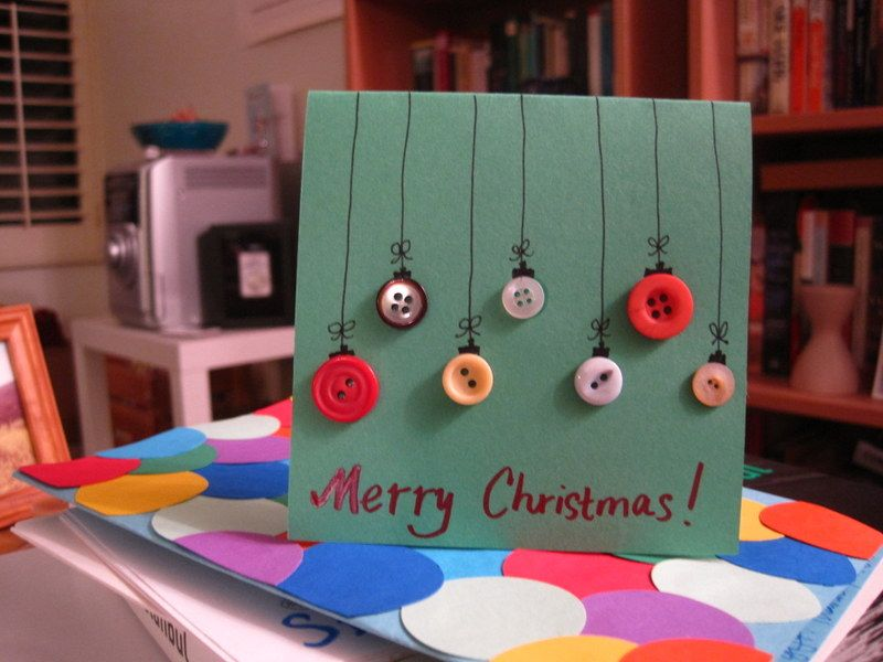 DIY Christmas Card!