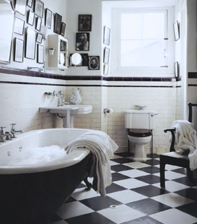Photo of Make It Work: Old School Tile in the Bath