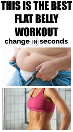 This Is The Best Flat Belly Workout! Print our PDF infographic and get started today with a workout...