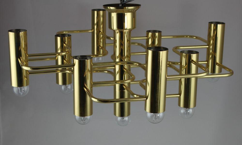 Original sciolari lampe designerlampe deckenlampe mid century