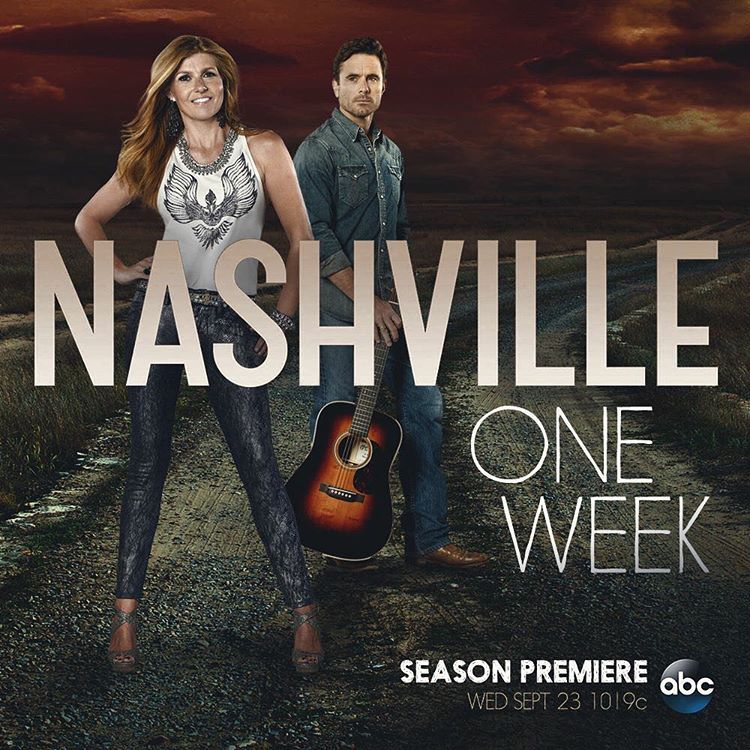 """Get ready y'all! #Nashville is back with Season 4 in one week!"""