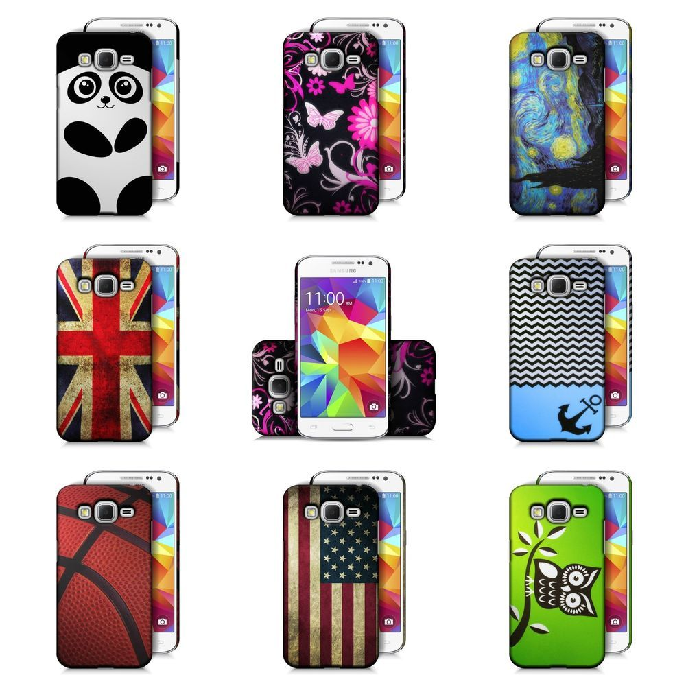 buy online a4bc1 935d5 Samsung Galaxy Prevail LTE / Core Prime Design Case Slim Fit Hard ...