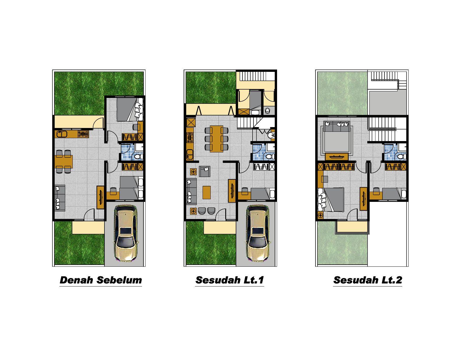 Desain Rumah Type 22 60 Desain Renovasi Rumah Type 29 Desain