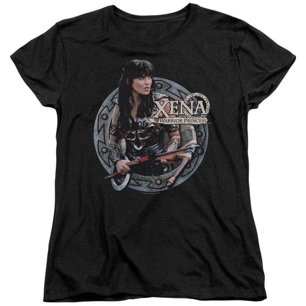 Xena/The Warrior Short Sleeve Women's Tee in