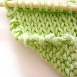 tricot lisiere