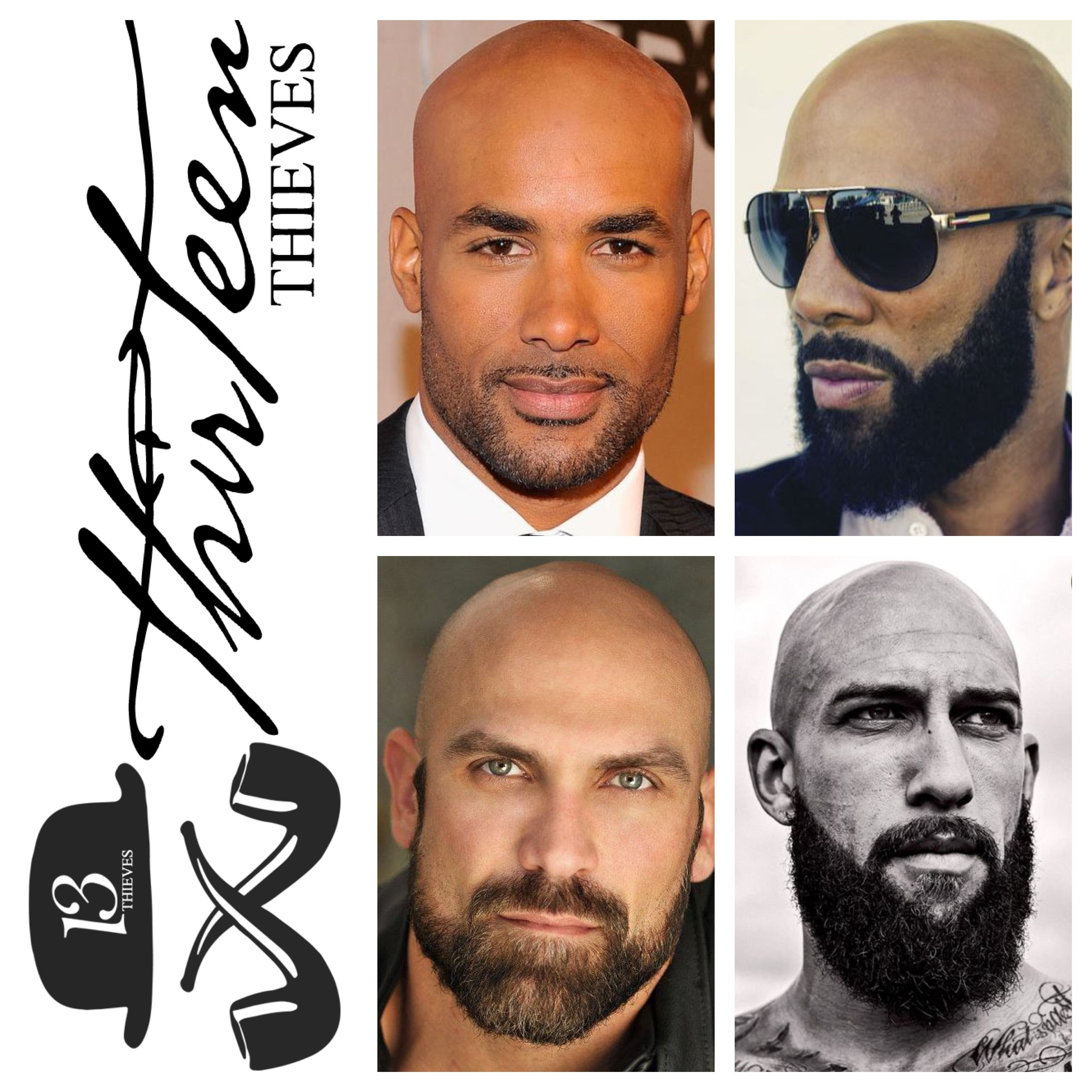 Bald With A Beard Is A Combination That Works At Every Length