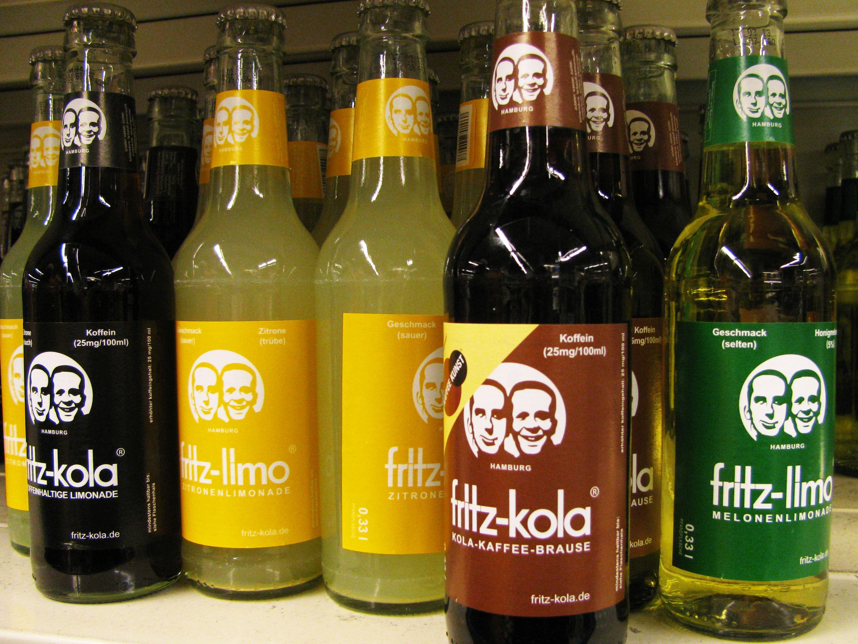 Fritz-kola   Berlin / Eating & Drinking   Pinterest   Getränke