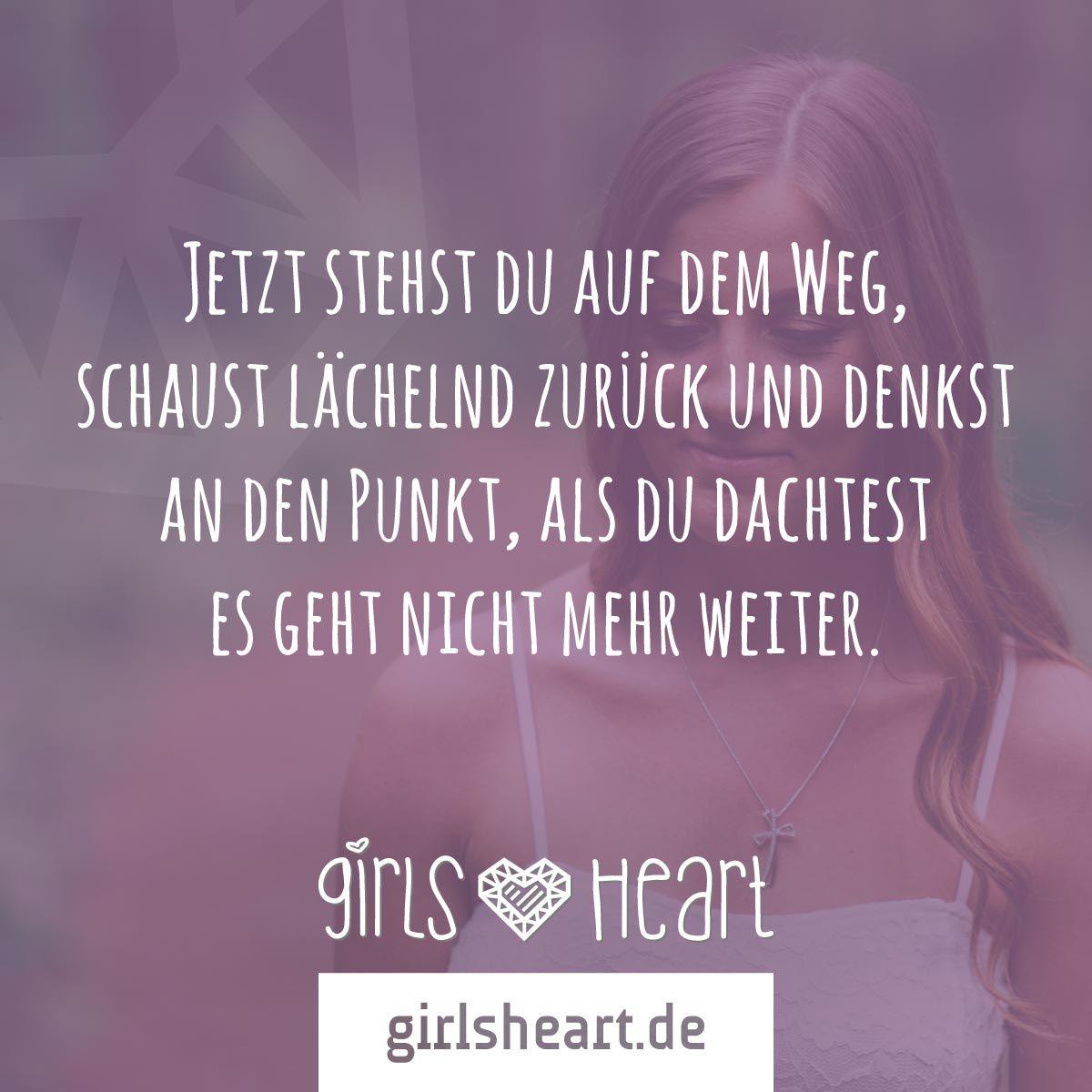 geht euren eigenen weg! mehr sprüche auf: www.girlsheart.de