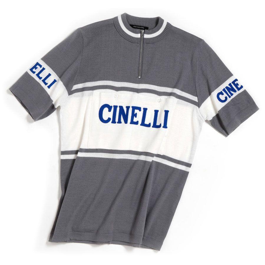 a47f968db Cinelli s Antonio Colombo commissioned De Marchi to recreate this iconic Cinelli  jersey. Originally created for Cinelli s Milano laboratorio and shop at 45  ...