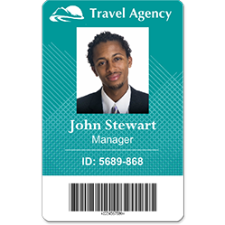 Employee Id Card Id Badge Maker Employee Id Card Badge