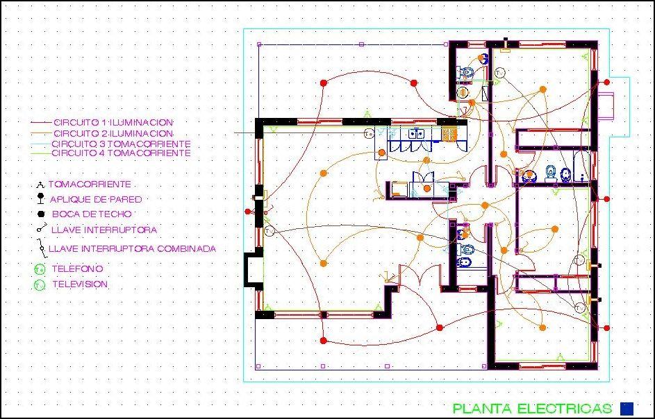 Instalación Eléctrica De Una Casa Casas Ecológicas Plano Instalacion Electrica Instalación Electrica Instalación Eléctrica