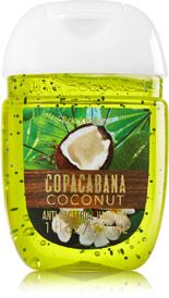 Copacabana Coconut Pocketbac Sanitizing Hand Gel Soap Sanitizer
