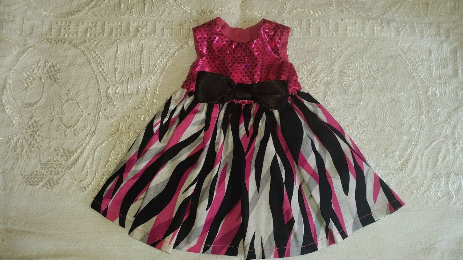 Cute dress, for your american girl doll, o for  your 18 inch doll. by ChulasIdeas on Etsy