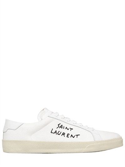 LUXURY SHOPPING WORLDWIDE SHIPPING - FLORENCE. Canvas SneakersMen  SneakersSt LaurentSaintsCanvasesLogosVintage ...