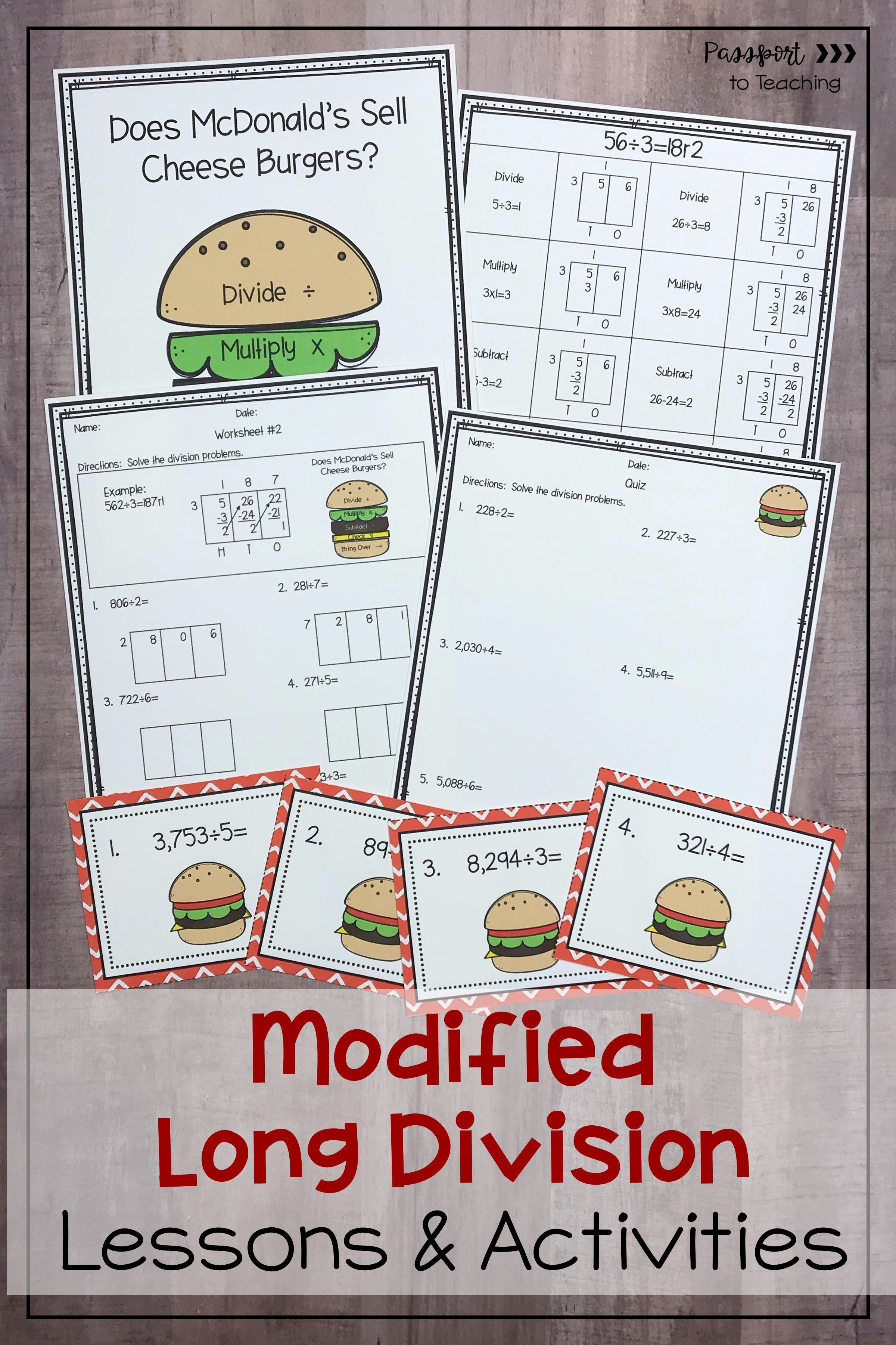 Modified Long Division