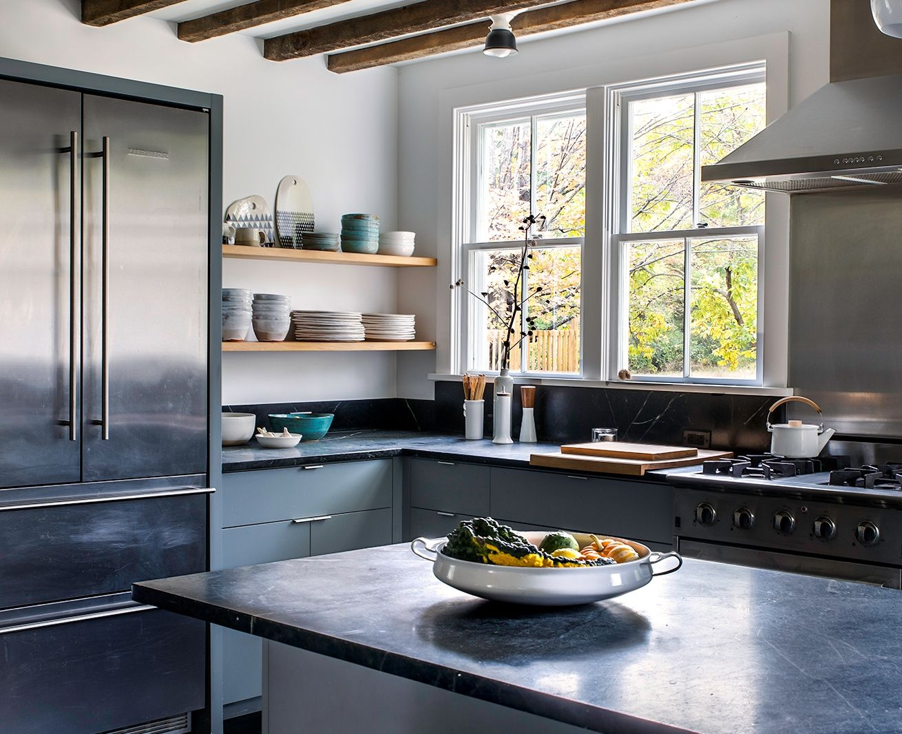 Kitchen Of The Week Hudson Valley Farmhouse Kitchen Reborn Remodelista In 2020 Kitchen Interior Design Modern Interior Design Kitchen Farmhouse Kitchen Remodel