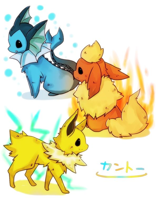 flareon and jolteon