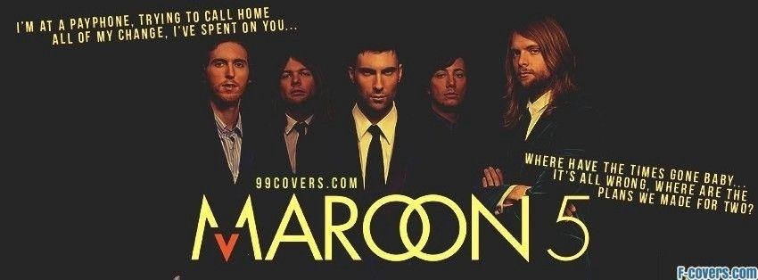 Maroon 5 Payphone Lyrics Facebook Cover Facebook Cover Lyrics Maroon 5