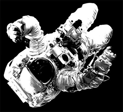 astronaut outer space appears - photo #44