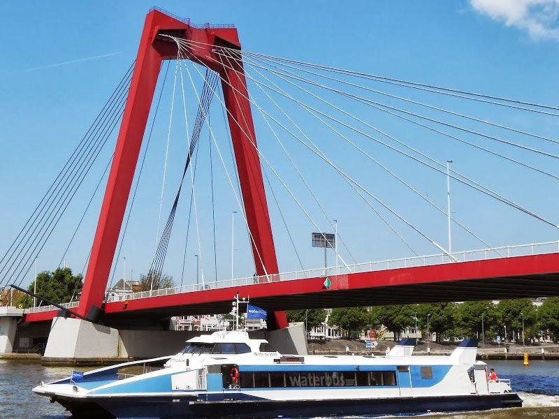Het vastgoed zal naast de Willemsbrug worden gerealiseerd.