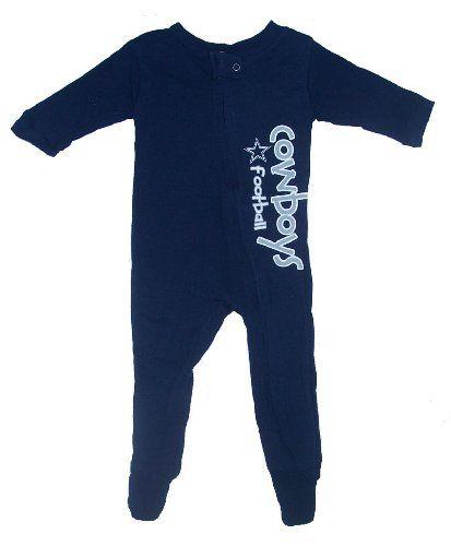 Dallas Cowboys Baby Pajamas  ec523a4e0