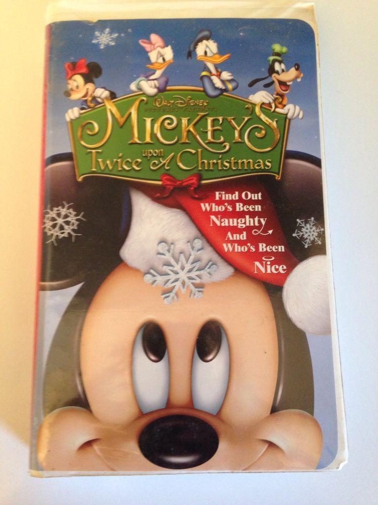 Twice Upon A Christmas.Mickey S Twice Upon A Christmas Vhs 2004 Christmas