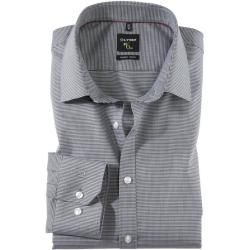 Olymp No Six Shirt Super Slim Urban Kent Black 42 Olym In 2020 Business Outfits Classy Outfits Men Men Fashion Casual Outfits
