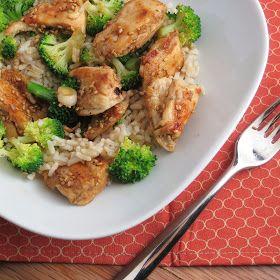 Alida's Kitchen: Lighter Sesame Chicken