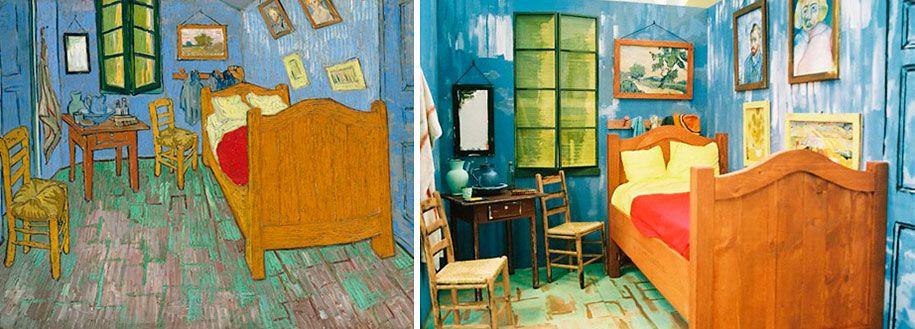 "Bedroom in Arles"" by Vincent Van Gogh Image credits: Joshua Louis ..."