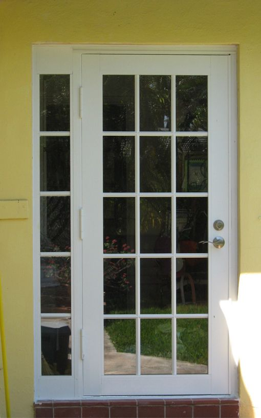 Single Exterior French Door Cheap With Images Of Single