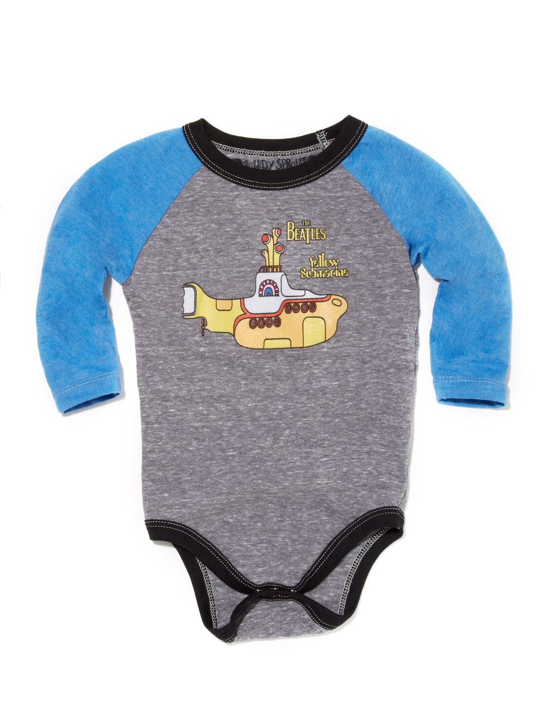 Beatles Yellow Submarine Onesie by Rowdy Sprouts at Gilt