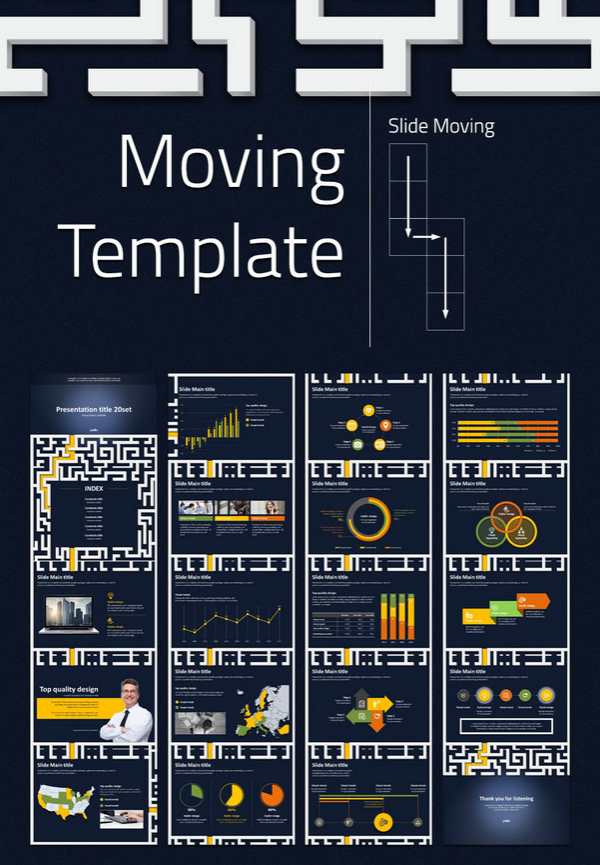 Special Template Type Animated. A complete presentation