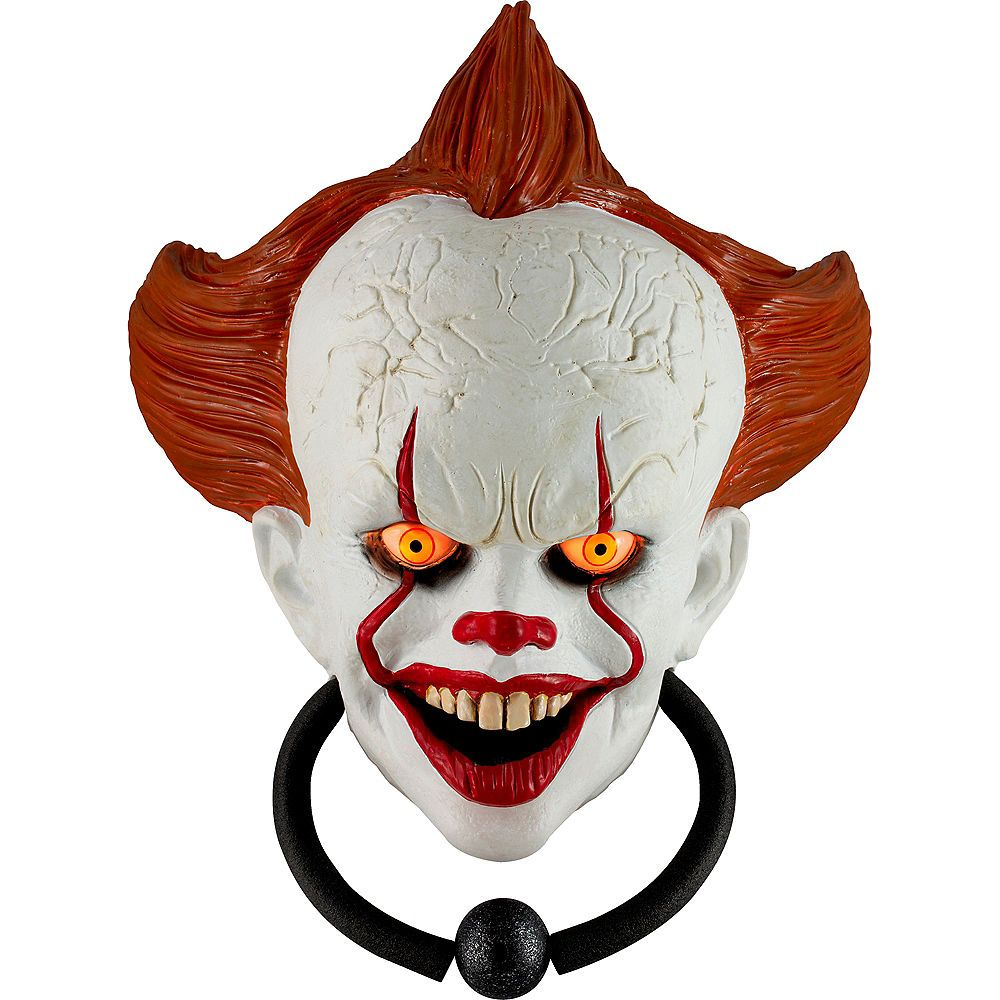 Animated Pennywise Door Knocker 12in X 16in