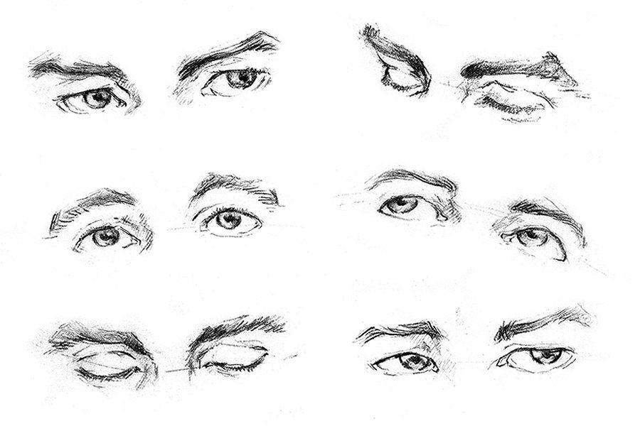 pair eye sketching exercise found this in deviantart by noel4037