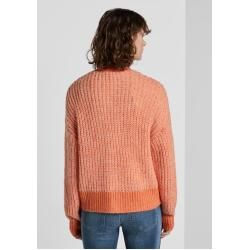 Photo of Tom Tailor Damen Cardigan in Ripp-Optik, orange, gemustert, Gr.xl Tom TailorTom Tailor