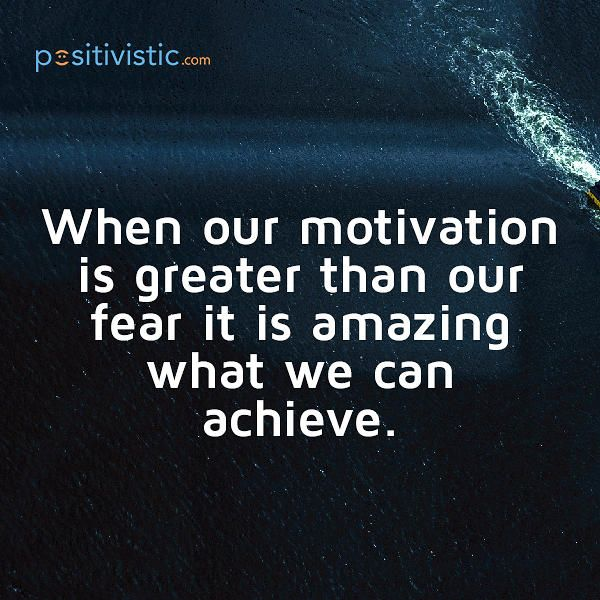 Amazing Motivation: Quote On Motivation: Quote Motivation Great Fear Amazing