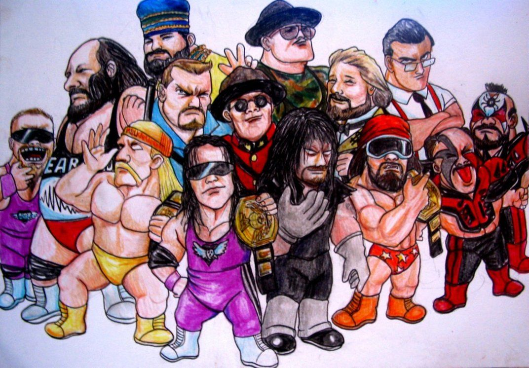 Cartoon Characters 80s 90s : Wwe characters s by vinceart on deviantart