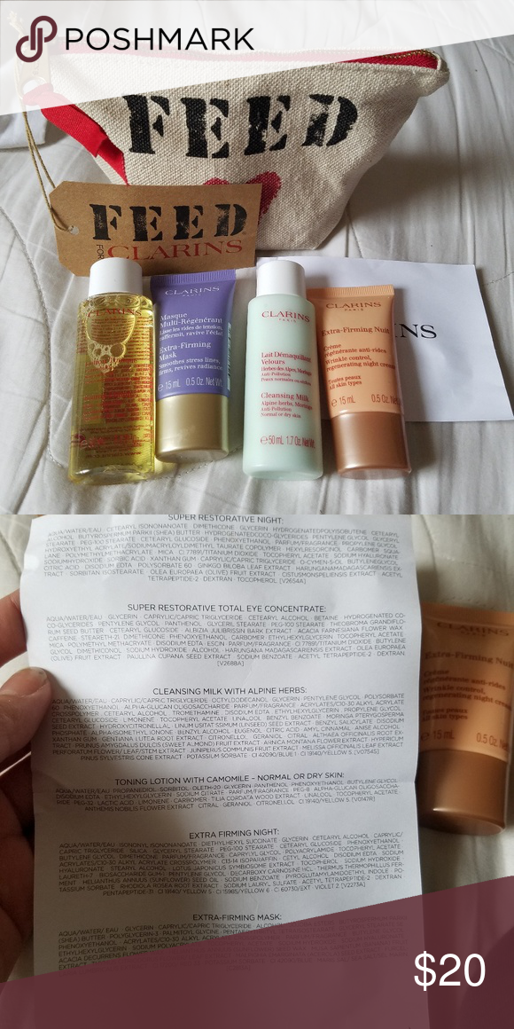 7fa1afeb6b91 Feed for clarins gift All brand new product. Never been opened clarins  Makeup
