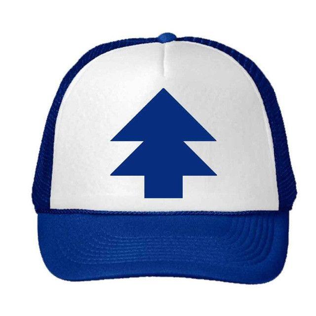 Women Trucker Baseball Cap Pine Tree Dipper Gravity Fall Mesh Cap^AdjustablPRUK