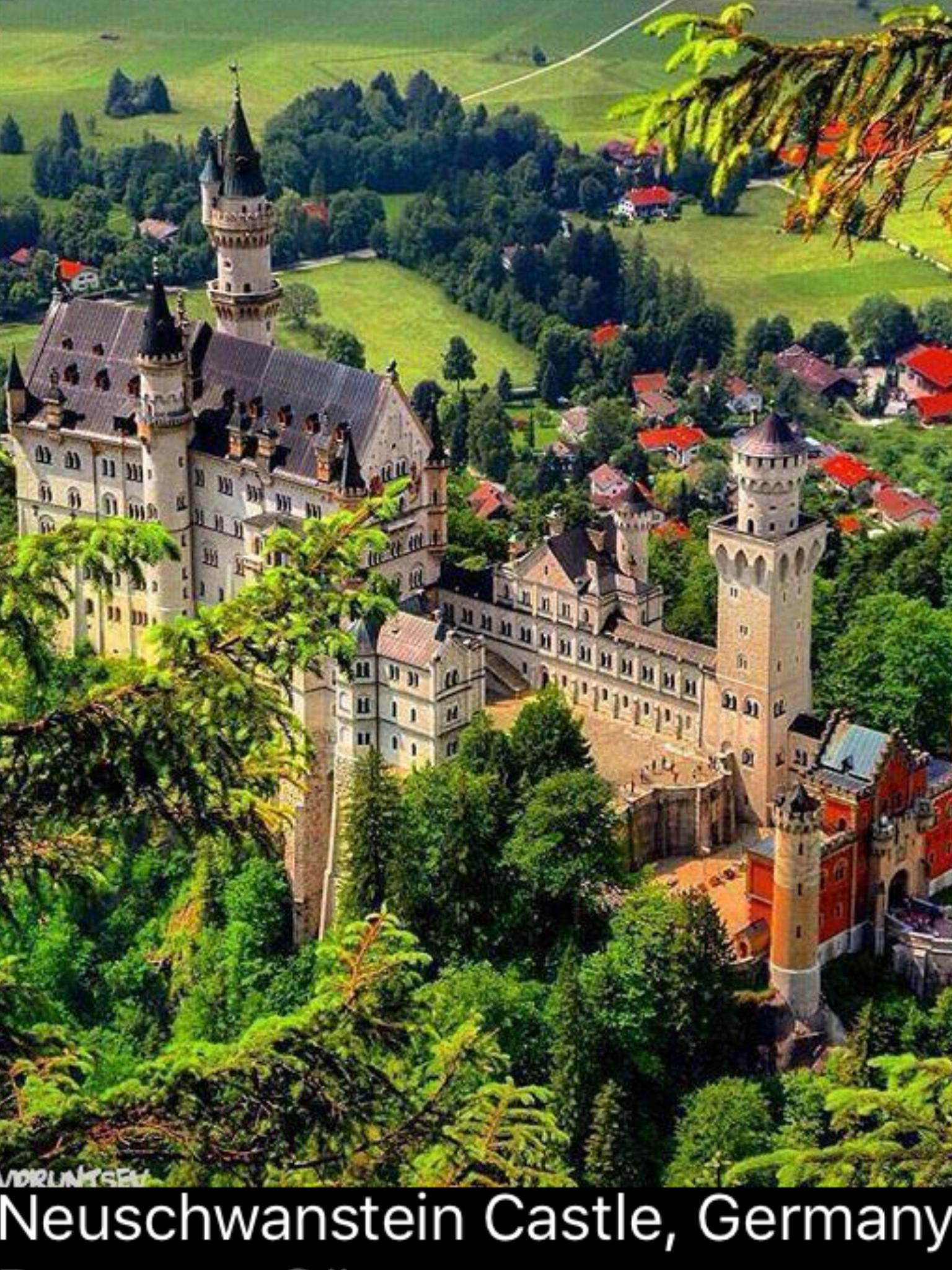 Castle Germany Germany Castles Neuschwanstein Castle Beautiful Castles