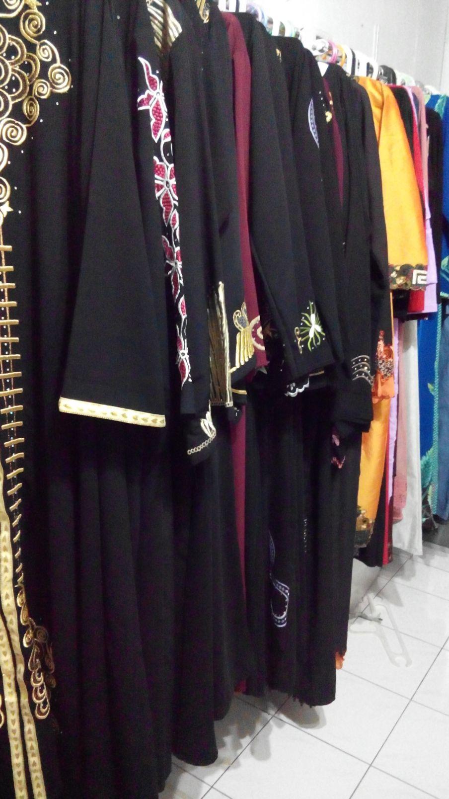 abaya model baru,model abaya batik kombinasi,baju syari,produsen