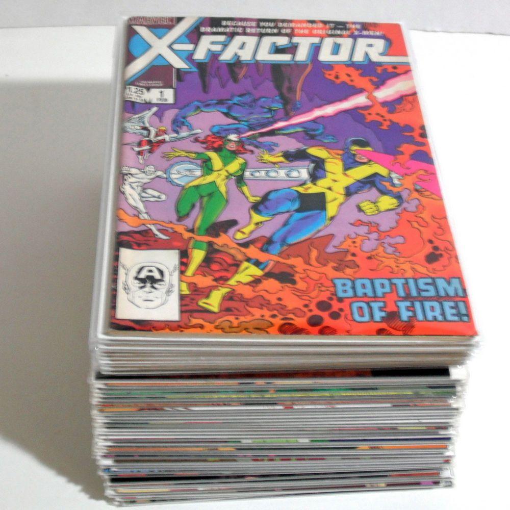 Marvel Comics X-Factor Collection X-Men Apocalypse First Appearance Plus FF
