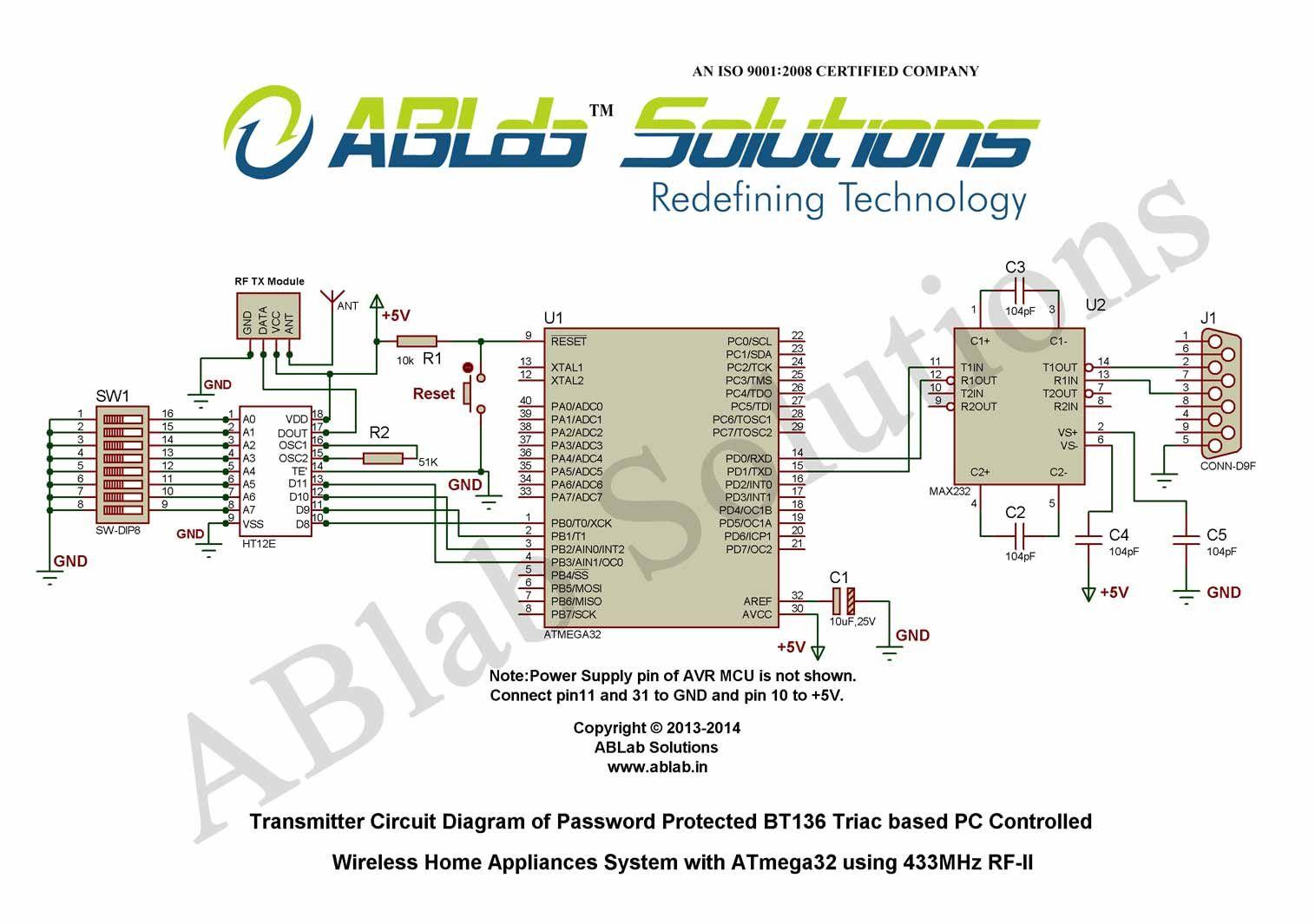 Pin by harijanto on mikrokontroler | Circuit diagram, Home ...